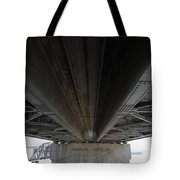 The Three Benicia-martinez Bridges In California - 5d18842 Tote Bag