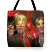 The Three Masketeers Tote Bag