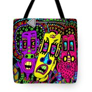 The Three Of Us Tote Bag
