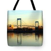 The Throggs Neck Bridge Tote Bag
