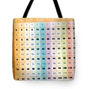 The Times Table Tote Bag