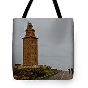 The Tower Of Hercules Tote Bag