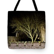 The Tower Of London At Night  Tote Bag