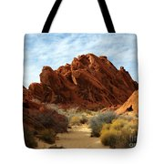The Trail Through The Valley Tote Bag