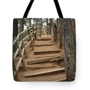 The Trail To The Top Tote Bag