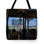 The Trainstation In Nashville Tote Bag