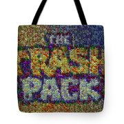 The Trash Pack Eyeball Mosaic Tote Bag