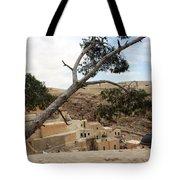 The Tree In Desert Tote Bag