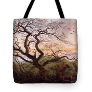 The Tree Of Crows Tote Bag