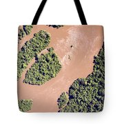 The Turbid Ituri River Channels Its Way Tote Bag
