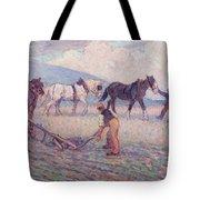 The Turn - Rice Plough Tote Bag
