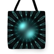 The Turquoise Sun Tote Bag