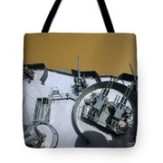 The Twin Bofors 40mm Anti-aircraft Tote Bag by Michael Wood