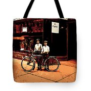 The Two Boys Tote Bag