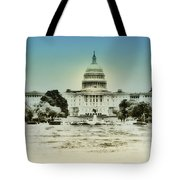 The United States Capital Building Tote Bag