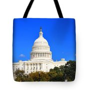 The United States Capitol Tote Bag