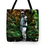 The Unknown Construction Worker In London Tote Bag