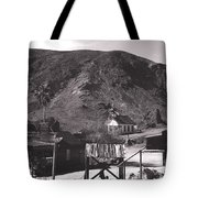 The Upper Village Of Calico Ghost Town Tote Bag
