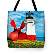 The Vermillion Light Tote Bag