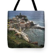 The Village Of Vernazaa On Italys Tote Bag