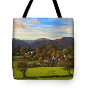 The Village Of Watermillock In Cumbria Uk Tote Bag