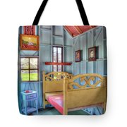 The Vincent Van Gogh Small House Tote Bag