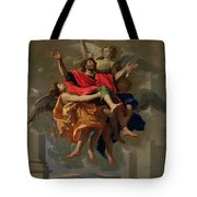 The Vision Of St. Paul Tote Bag