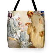 The Visit Of The Wise Men Tote Bag