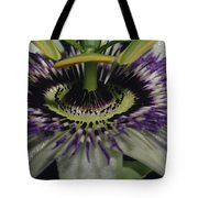 The Vivid Purple And Intricate Tote Bag