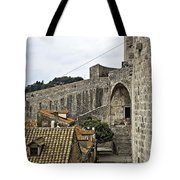 The Wall In Dubrovnik Tote Bag