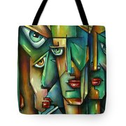 The Wall Tote Bag by Michael Lang