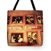 The Wall Of Fame In Old Tuscon Az Tote Bag