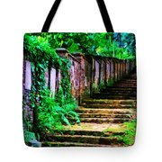 The Wall Of Gravestones Tote Bag