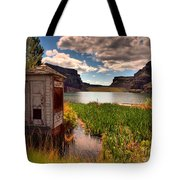 The Water Shed Tote Bag by Tara Turner