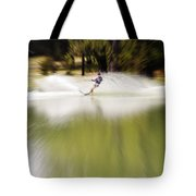 The Water Skier 1 Tote Bag