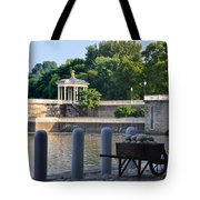 The Waterworks Wheelbarrow - Philadelphia Tote Bag