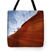 The Wave A Bit Of Heaven Tote Bag