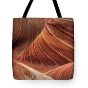 The Wave Into The Fold Tote Bag