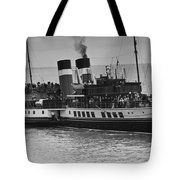 The Waverley Paddle Steamer Mono Tote Bag