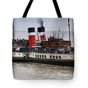 The Waverley Paddle Steamer Tote Bag