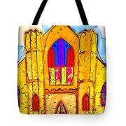 The Wedding Chapel Tote Bag