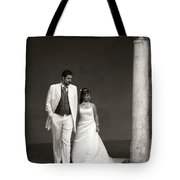 The Wedding Couple Tote Bag