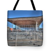 The Welsh Assembly Building Tote Bag