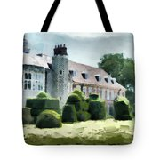 The West Wing Of Historic Hall Place  Tote Bag