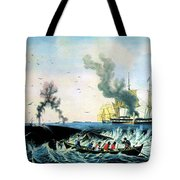 The Whale Fishery, 19th Century Tote Bag