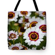 The White Field Tote Bag