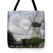 The White Windmill Tote Bag