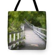 The Whitewater Walk Boardwalk Trail Tote Bag