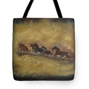 The Wild And Free Ones Tote Bag