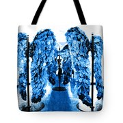 The Wings Of Fallen Angels Tote Bag